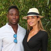 Ariane Brodier : Moment de tendresse entre son chéri Fulgence et leur fils