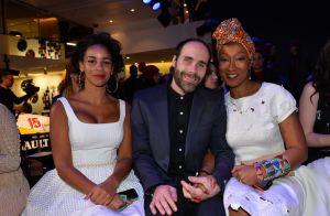 Cindy Fabre et Alicia Aylies : Défilé de Miss face à Mia Frye pour Guillarmé