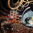Ambiance pendant les Oscars, Dolby Theatre. Los Angeles, le 4 mars 2018