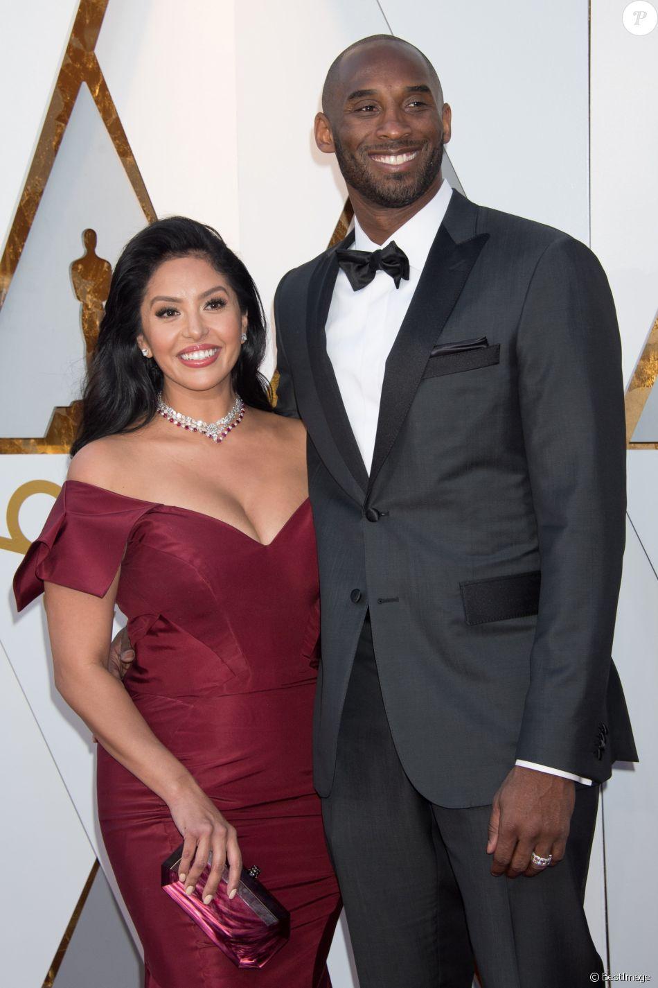 4484fc976b100 Kobe Bryant et sa femme Vanessa - Arrivées - 90ème cérémonie des Oscars  2018 au théâtre