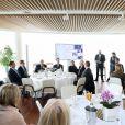Exclusif - Pierre Casiraghi lors de la présentation des Monaco Globes Series au Yacht Club de Monaco le 27 février 2018. Cette course offshore en Imoca, en double et sans escale, aura lieu du 1er au 8 juin 2018 et sera qualificative pour le Vendée Globe. © Olivier Huitel/Pool restreint Monaco/Bestimage-Crystal