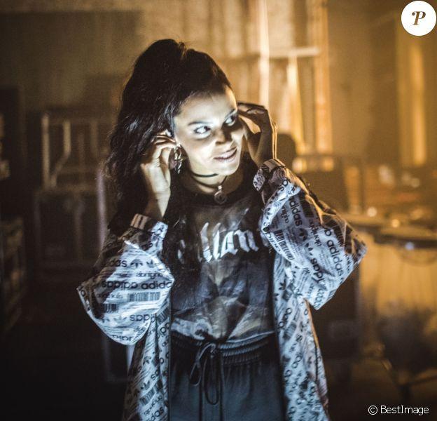 Exclusif - Shy'm en concert au théâtre Sebastopol de Lille le 3 mars 2018. © Cyril Moreau/Bestimage
