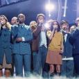 """La troupe des Enfoirés 2018 à l'occasion du spectacle """"Musique !"""" donné à Strasbourg en janvier dernier."""