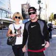 Paris Hilton et son amoureux Doug Reinhardt  dans les rues de Los Angeles