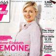 Anne-Elisabeth Lemoine en couverture du Télé 7 Jours du 12 mars 2018