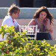 Exclusif - Justin Bieber et sa compagne Selena Gomez - Mariage de Jeremy Bieber et de Chelsey Rebelo-Bieber à Montego Bay en Jamaïque, le 19 février 2018