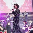 """Exclusif - Tina Arena - 6ème gala de l'association """"Les Rois du Monde"""" à la Salle Wagram, à Paris, le 12 mars 2018. © Cyril Moreau/Rachid Bellak/Bestimage"""