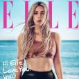 """Kim Kardashian en couverture de l'édtion américaine du magazine """"Elle"""". Avril 2018."""