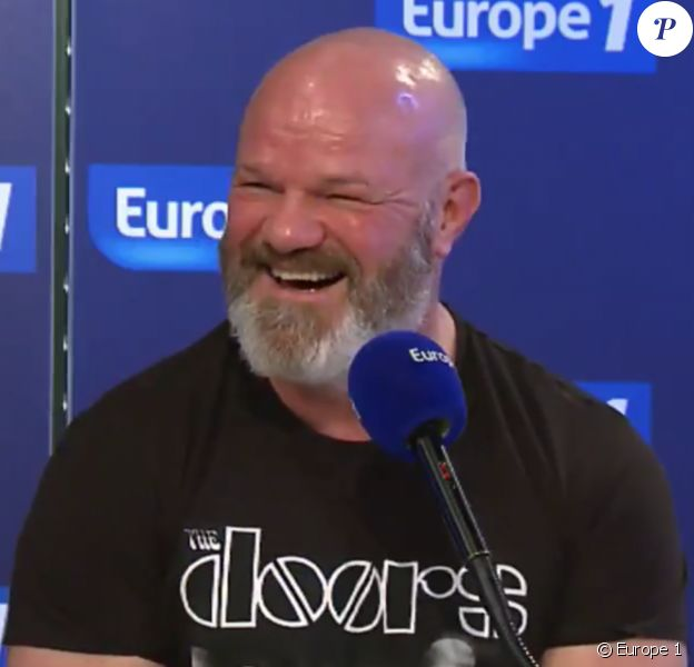 Philippe Etchebest au micro d'Europe 1, le 14 mars 2017.