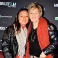 Véronique Jannot et sa fille Migmar - Projection de la sélection officielle et remise des prix lors du Mobile Film Festival au cinéma MK2 Bibliothèque à Paris, le 13 mars 2018. © Veeren/Bestimage