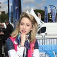 Jazmin Grace Grimaldi (la fille du prince Albert II de Monaco) - Départ du 28ème Rallye Aicha des Gazelles depuis la Promenade des Anglais à Nice le 17 mars 2018.