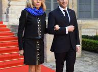 Brigitte Macron : Escarpins rock et jupe courte, la première dame reine du style