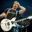"Jesse Hughes - Le groupe ""The Eagles of Death Metal"" en concert à l'Opera House à Toronto. Le 7 mai 2016 © Angel Marchini / Zuma Press / Bestimage"