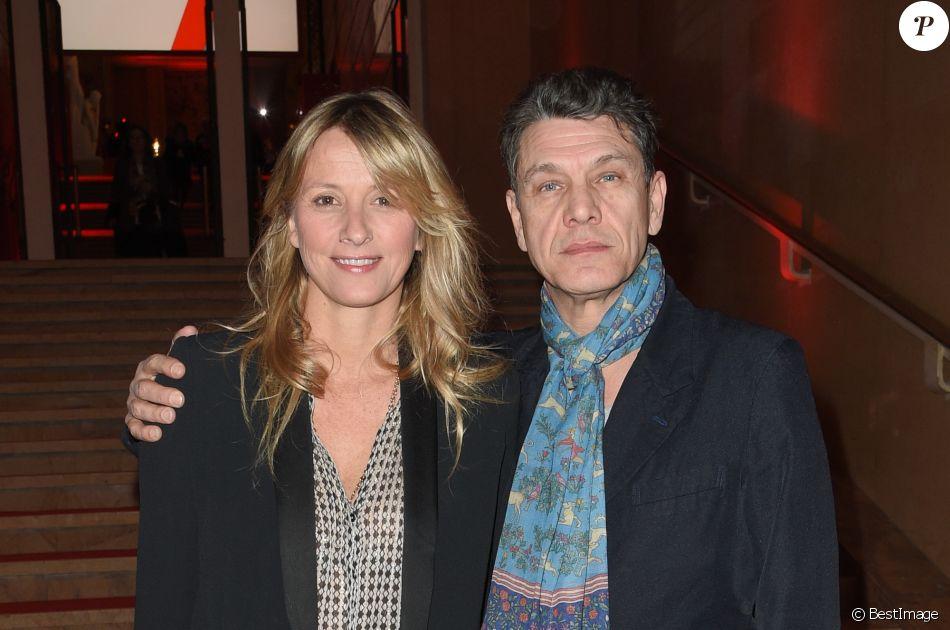 Sarah et Marc Lavoine - Soirée bicentenaire des Caisses d'Epargne au Palais de Chaillot à Paris, France, le 21 mars 2018. © Coadic Guirec/Bestimage