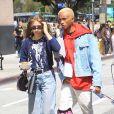 Jaden Smith et sa petite amie Odessa Adlon à Los Angeles, le 24 mars 2018