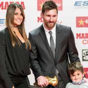 Lionel Messi dévoile l'adorable bouille de son troisième fils