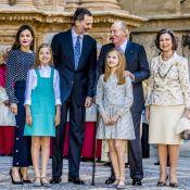 Letizia et Felipe d'Espagne : Pâques 2018 en famille, Leonor et Sofia complices