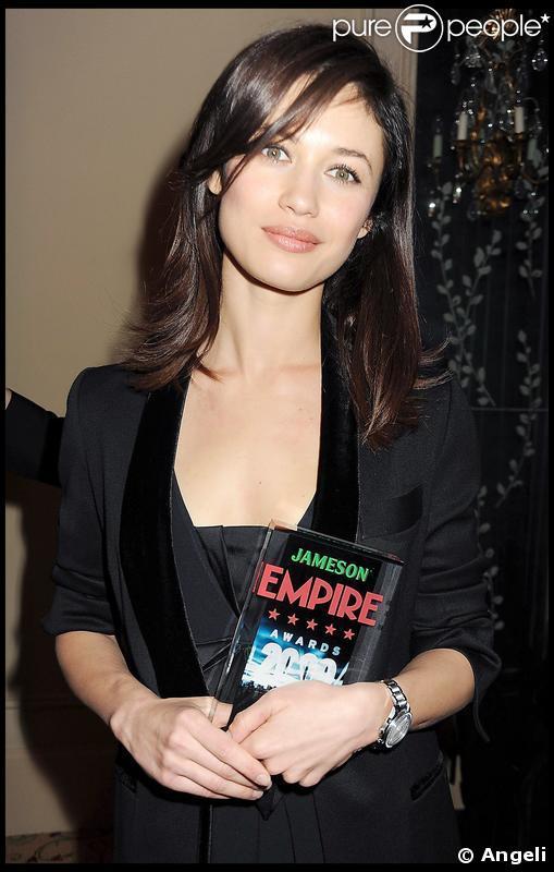 Olga Kurylenko lors de la soirée Empire Film Awards à Londres le 29 mars 2009