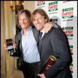 Viggo Mortensen et Sean Bean lors de la soirée Empire Film Awards à Londres le 29 mars 2009