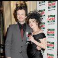 Michael Sheen et Helena Bonham Carter lors de la soirée Empire Film Awards à Londres le 29 mars 2009