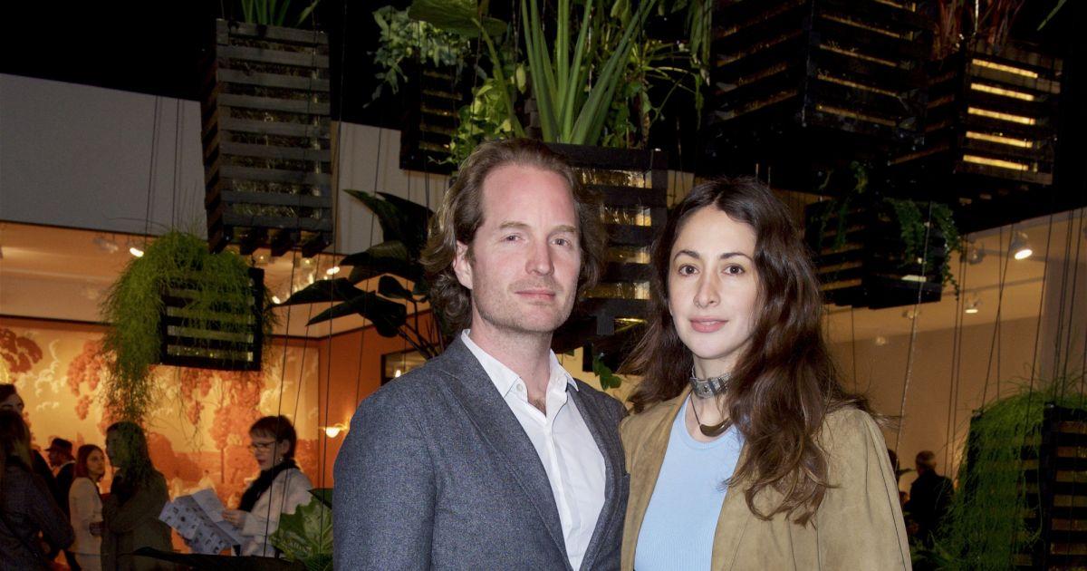 Exclusif vincent frey et sa femme bianca au pad paris art design 2018 au jardin des - Alexandre jardin et sa femme ...
