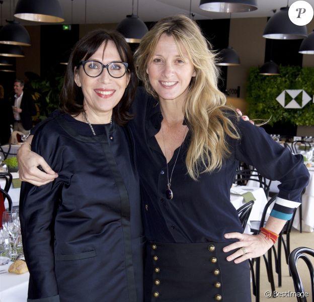 Exclusif - Sylvie de Chirée et Sarah Lavoine au PAD (Paris Art + Design) 2018 au Jardin des Tuileries à Paris le 3 avril 2018 © Julio Piatti / Bestimage