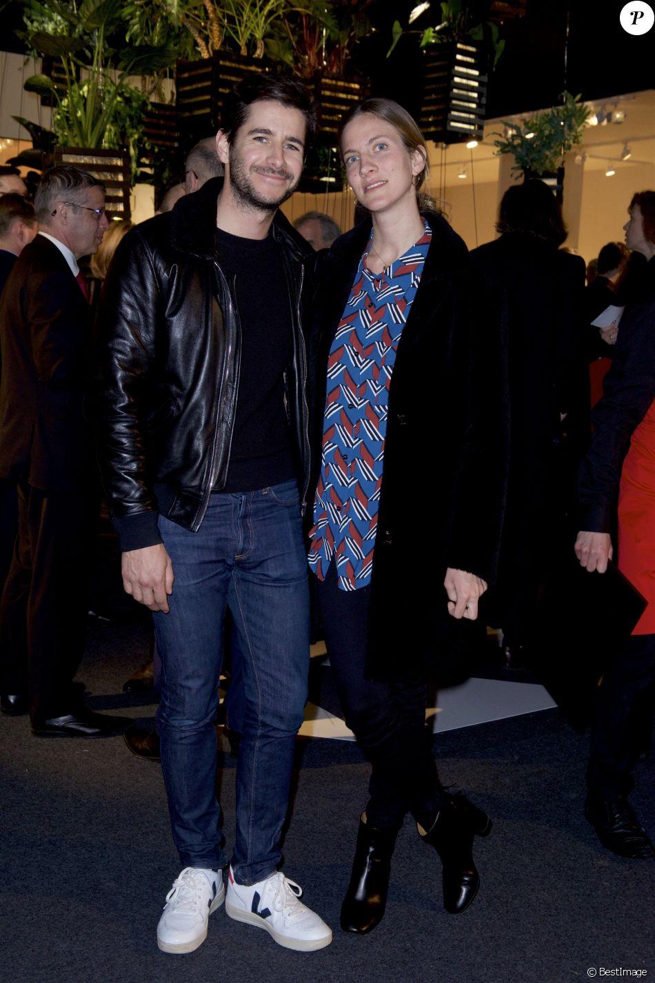 Exclusif guillaume gibault et sa femme cr ateur de la marque slip francais au pad paris art - Alexandre jardin et sa femme ...