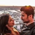 """Alia et Ali (""""Secret Story 9"""") sont plus amoureux que jamais. Mai 2017."""