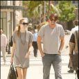 Goran Ivanisevic et sa compagne Tatjana Dragovic à Beverly Hills