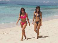 Kim et Kourtney Kardashian : Les soeurs de Khloé, maman, divines en bikini