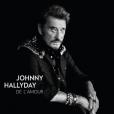 Johnny Hallyday - De l'amour - pochette de l'album avec un portrait réalisé par Mathieu César, en 2015.