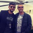 Fadi Fawaz et George Michael (photo publiée en 2013 sur Instagram).