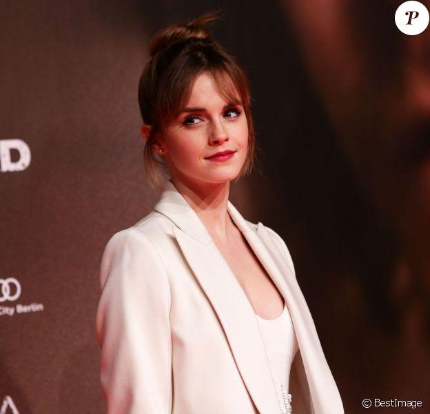 Emma Watson lors de la première de Colonia à berlin le 5 Février 2016.