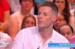 Matthieu Delormeau raconte son accident dans TPMP et passe un message fort