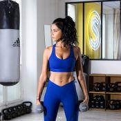 Shy'm : Sportive pour adidas, elle se mesure à une championne d'escrime