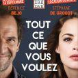 La pièce Tout ce que vous voulez, au théâtre Edouard VII à Paris, avec Bérénice Bejo et Stéphane De Groodt