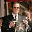 Roger Moore honoré sur le Walk Of Fame d'Hollywood Boulevard en octobre 2007
