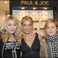 Julie Depardieu, Marina Foïs et Sophie Albou au lancement de la collection Eyewear Paul & Joe