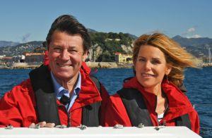 Christian Estrosi et Laura Tenoudji complices pour une sortie en mer à Nice