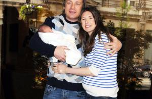 Le cuisinier star Jamie Oliver et son épouse Jools vous présentent... déjà leur adorable petite fille ! Rachida Dati... battue !