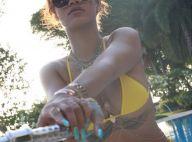 Rihanna : Canon en bikini, elle dévoile ses vergetures