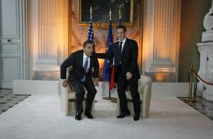 Nicolas Sarkozy : prêt à tout pour être... à la hauteur de Barack Obama !