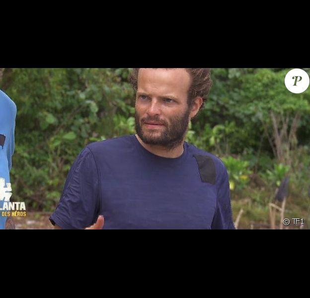"""Alban dans """"Koh-Lanta : Le combat des héros"""" (TF1), épisode diffusé vendredi 4 mai 2018."""