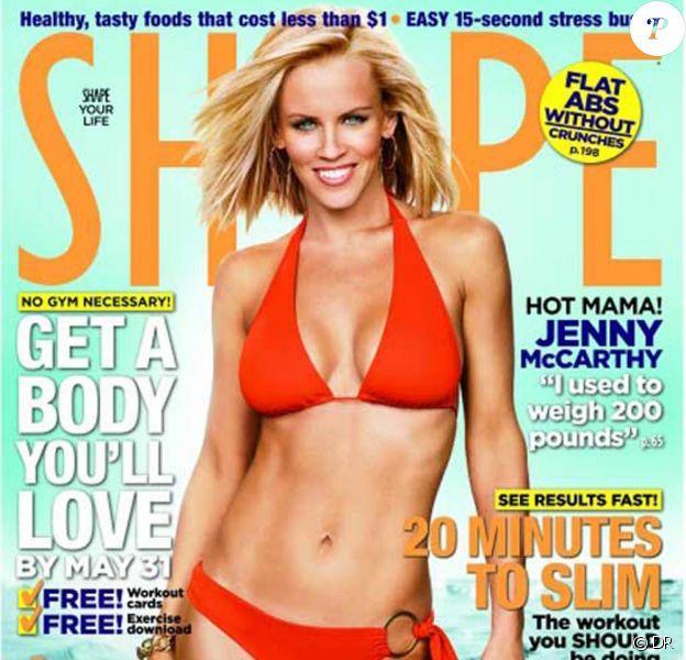 """Jenny McCarthy en couverture du nouveau numéro de """"Shape"""" !"""