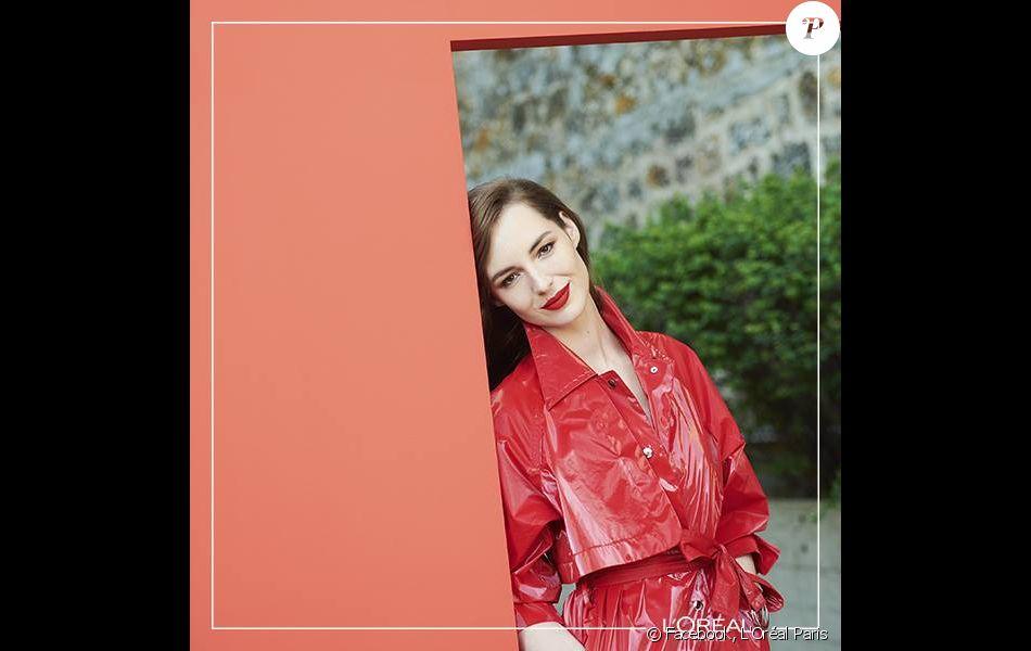 Louise Bourgoin rejoint la grande famille de L'Oréalistas en devenant égérie de L'Oréal Paris.
