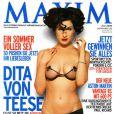 """Dita von Teese mise à nu pour le magazine """"Maxim"""" !"""