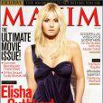 """Elisha Cuthbert mise à nu pour le magazine """"Maxim"""" !"""
