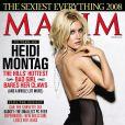 """Heidi Montag mise à nu pour le magazine """"Maxim"""" !"""