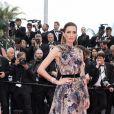 Nieves Alvarez (robe Elie Saab et bijoux Bulgari) - Montée des marches du film «Plaire, aimer et courir vite» lors du 71ème Festival International du Film de Cannes. Le 10 mai 2018 © Borde-Jacovides-Moreau/Bestimage