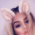 Khloé Kardashian. Avril 2018.
